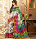 EYE-CATCHING ART-SILK CASUAL WEAR SAREE RTMS10941
