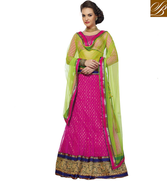 LEHENGA CHOLI ONLINE WITH NET DUPATTA AT AFFORDABLE PRICE INDIA