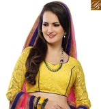 EYE-CATCHING DESIGNER CHANIYA CHOLI WITH DUPATTA