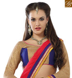 COOL NEW DESIGN YELLOW LEHENGA WITH DUAL COLOR CHOLI