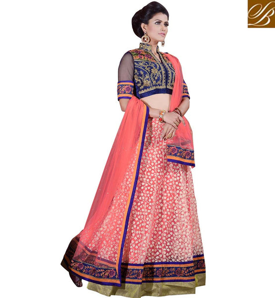 SHOP ETHNIC LEHENGA CHOLI ONLINE FOR PRE & POST WEDDING CEREMONIES