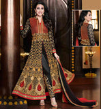 BOLLYWOOD COSTUME FOR WEDDINGS ONLINE SHOPPING  BEAUTIFUL ACTRESS KARISHMA KAPOOR DESIGNER GEORGETTE DRESS