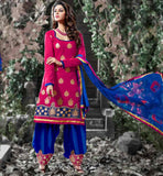 PUNJABI SALWAR KAMEEZ SUITS COTTON FABRIC FOR COMFORTABLE WEARING