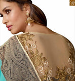STYLISH BAZAAR GLAMOROUS EMBROIDERED SAREE DESIGN RTSPO11001