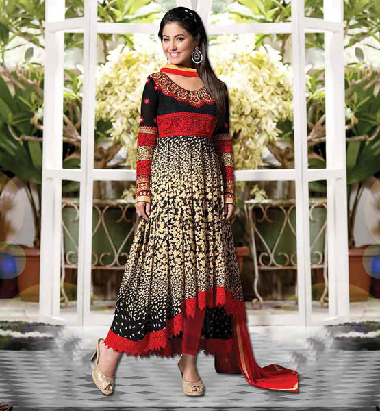 HEENA KHAN CELEBRITY SALWARS BOLLYWOOD STYLE DRESS UP LATEST PARTY WEAR DRESSES 2015 AT REASONABLE PRICE