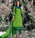 STRAIGHT LONG SUIT DESIGNS COTTON DRESSES FOR OFFICE GOING LADIES