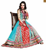 ZOYA SAPPHIRE AMAZING NET WEDDING WEAR ANARKALI SUIT WITH DUPATTA 11004 STYLISH BAZAAR