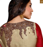 FROM THE HOUSE OF STYLISH BAZAAR PREMIUM DESIGNER INDIAN PARTY WEAR SARI BLOUSE DESIGN RTSPO11004