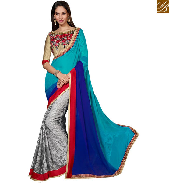 STYLISH BAZAAR GORGEOUS LATEST ARRIVALS SAREE ONLINE COLLECTION RTSPO11005