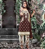 PUNJABI SALWAR KAMEEZ SUITS DESIGNS WITH EMBROIDERY WORK ON SALWAR