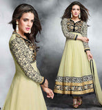 EVER STYLISH SALWAR SUITS FOR WEDDING PARTY PARTY WEAR  LEMONY LEMON ANARKALI DESIGNER DRESS WITH CHIFFON DUPATTA