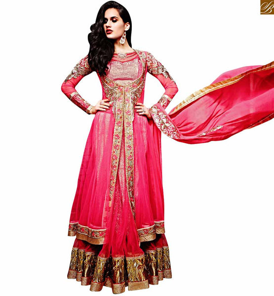 ZOYA SAPPHIRE UNIQUE DESIGN WOMEN'S ETHNIC MARRIAGE WEAR DRESS 11008 STYLISH BAZAAR