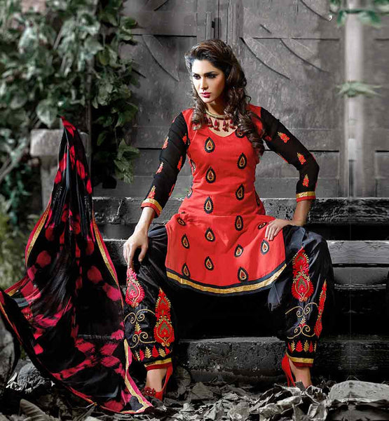 SUIT DESIGN PUNJABI EVERSTYLISH WOMENS COTTON SALWAR KAMEEZ SUITS