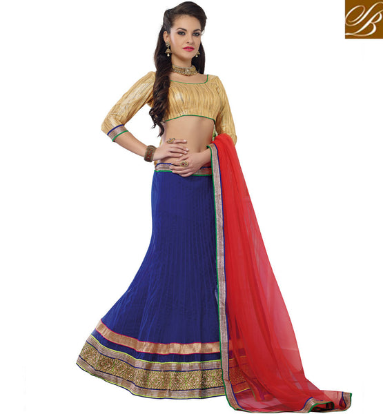 LEHENGA CHOLI ONLINE LATEST FASHION DESIGNER ENGAGEMENT COLLECTION
