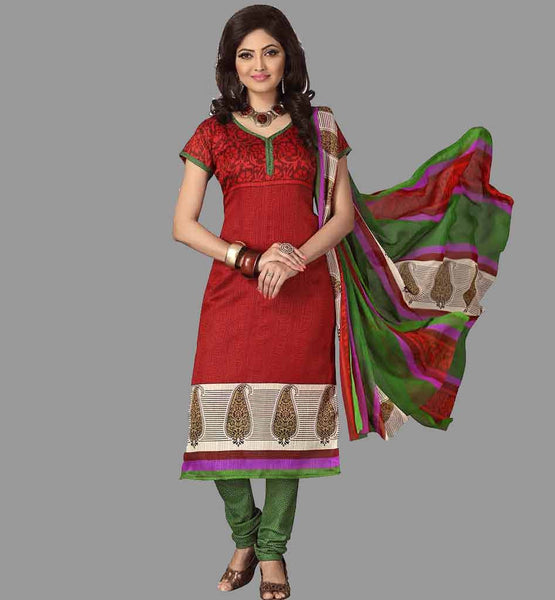 LADIES FORMAL SILK SALWAR KAMEEZ SUITS DUPATTA UNDER RS. 1000