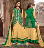 STYLISH SUIT JACKET DESIGNER SALWAR KAMEEZ 2015 LATEST PARTY WEAR ANARKALI DRESS DESIGN WITH LOVELY KOTI