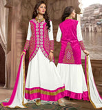 ANARKALI DRESS PATTERN 2015 LONG JACKET STYLEBOLLYWOOD MOVIE STYLE PARTY WEAR KOTI STYLE SALWAR KAMEEZ