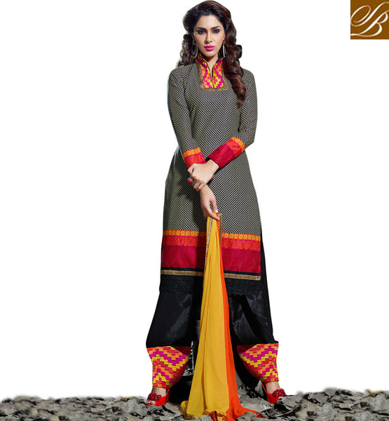 BEAUTIFUL GIRLS PUNJABI SALWAR KAMEEZ SUITS PATIALA TYPE SHALWAR