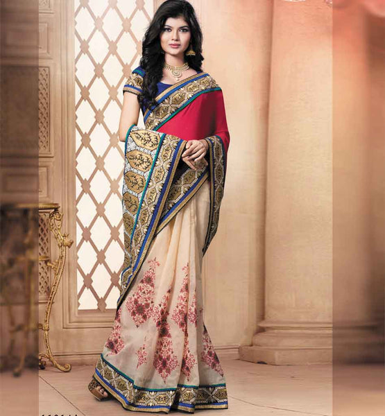 COOL PARTY WEAR SAREE VDRIW11014A