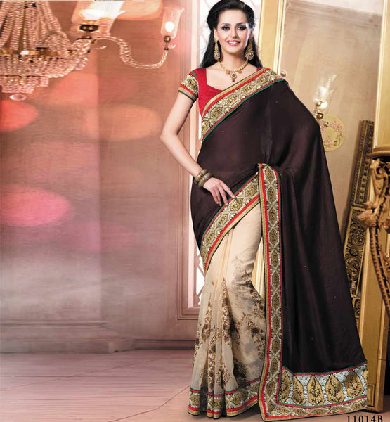 COOL PARTY WEAR SAREE VDRIW11014B