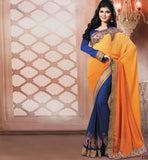 TRENDY PARTY WEAR SAREE VDRIW11015B