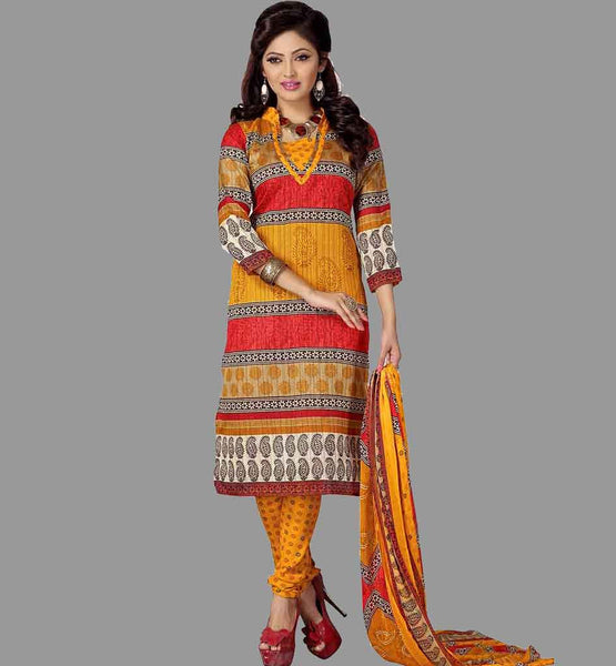 PURCHASE STYLISH FORMAL WEAR PRINTED SALWAR KAMEEZ SUITS ONLINE