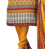 latest gashion kameez with printed salwar and dupatta for women