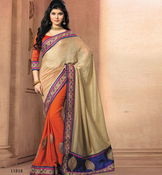 DESIGNER PARTY WEAR SAREE VDRIW11016