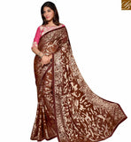 STYLISH BAZAAR LOVELY DESIGNER SARI INDIAN ONLINE SHOPPING RTSPO11016