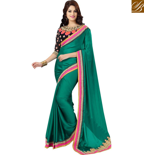 STYLISH BAZAAR BEAUTIFUL OCCASION WEAR SAREE DESIGN RTMDV1102
