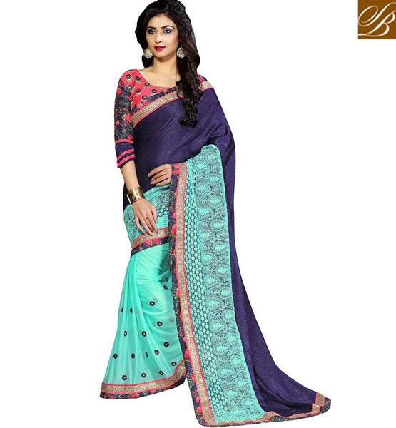 ADMIRABLE SARI DESIGN FOR SPECIAL OCCASIONS VDKET1102 BY STYLISH BAZAAR