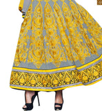 ANARKALI DRESS DESIGN OF DESIGNER NECK PATTERNS LONG KAMEEZ RTAPS1103