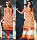 STYLISH KURTI WITH TWO DIFFERENT BOTTOMS LEGGINGS & PLAZZO SALWAR