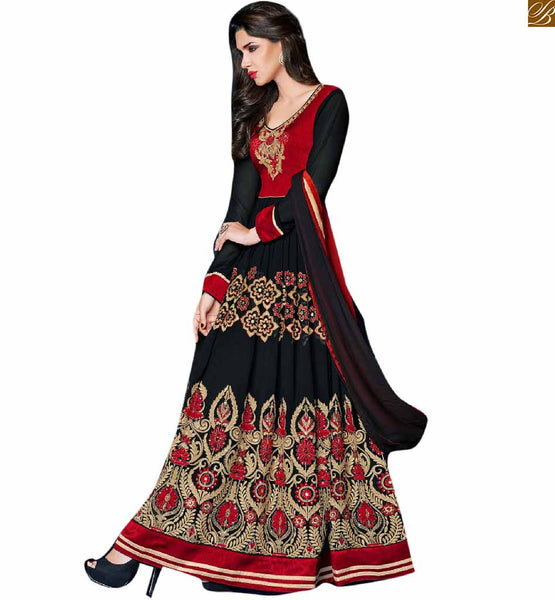 ANARKALI DRESSES 2015 NEW DESIGNER COLLECTION CHEAPEST RATE RTAPS1106