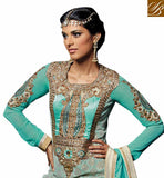 1108 BANARASI SILK HOT NEW KARACHI STYLE WEDDING WEAR SALWAR KAMEEZ DESIGN STYLISH BAZAAR STORE