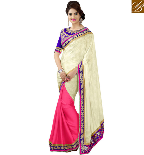 FROM THE HOUSE OF STYLISH BAZAAR ADORABLE DESIGNER OCCASION WEAR SAREE RTMDV1108