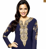 FROM STAR SHAZAHN PADAMSEE IN LATEST DESIGNER SALWAR KAMEEZ  ANZAI1109