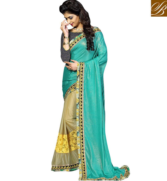 STYLISH BAZAAR INTRODUCES CAPTIVATING SARI DESIGN SPECIALLY CREATED FOR PARTIES VDKET1109