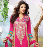 GOOD LOOKING STRAIGHT CUT PARTY WEAR PUNJABI DRESS