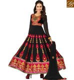 beautiful shraddha kapoor in black anarkali dress