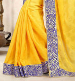 BE-THE-POINT-OF-DISCUSSION-BY-WEARING-THIS-PREMIUM-EMBROIDERED-BUTTA-STYLE--SARI-THAT-HAS-LACE-BORDER-ON-IT-BUY-INDIAN-SAREES-ONLINE-ALONG-WITH-TRENDY-STYLE-OF-BLOUSE`