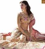 FROM THE STYLISH BAZAAR STUNNING A-LINE LEHENGA DESIGN ONLINE RTCAN1112