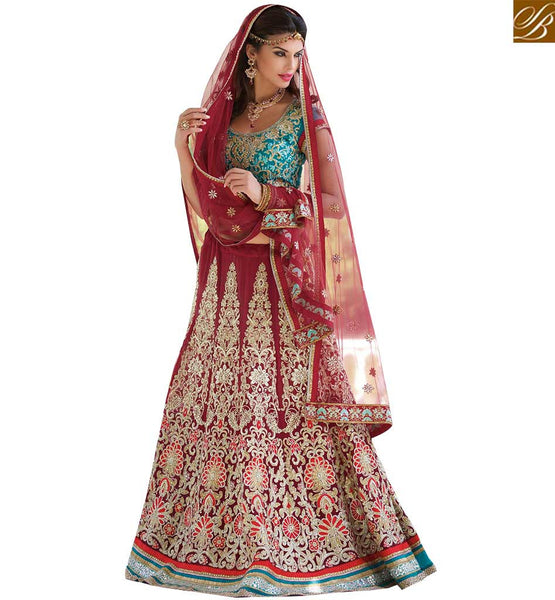 STYLISH BAZAAR WONDERFUL LEHENGA CHOLI ONLINE SHOPPING RTCAN1113