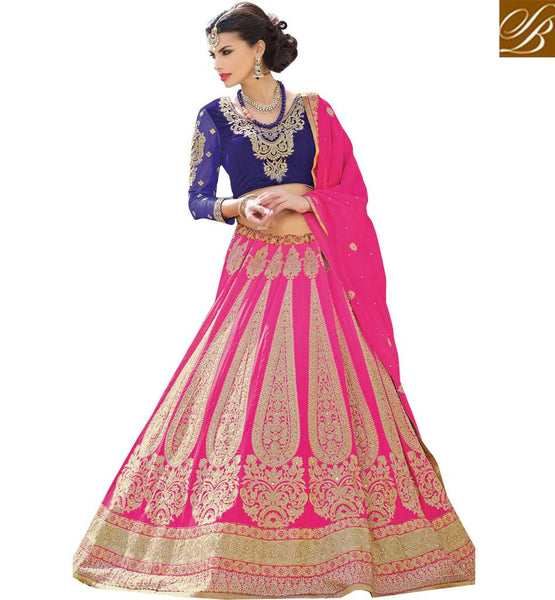 STYLISH BAZAAR GLAMOROUS INDIAN BRIDAL LEHENGAS ONLINE RTCAN1119