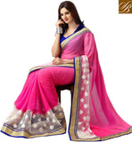 BUY ONLINE USA INDIAN PARTY WEAR SAREE WITH SILK BLOUSE