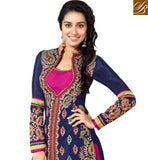 PRETTY BLUE SHRADDHA KAPOOR ANARKALI DRESS ANKS1128