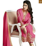 BROUGHT TO YOU BY STYLISH BAZAAR MARVELLOUS PINK COLORED DESIGNER SALWAR KAMEEZ ANZN1130