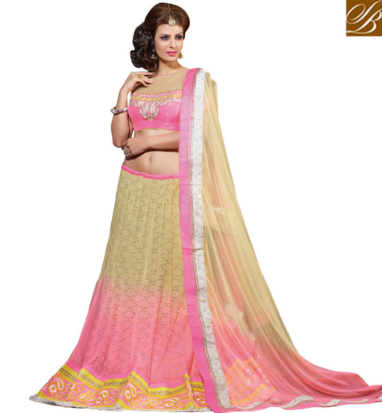 STYLISH BAZAAR BEAUTIFUL WEDDING WEAR LEHENGA CHOLI DESIGN RTJS1131