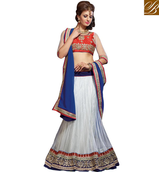 BROUGHT TO YOU BY STYLISH BAZAAR ADORABLE BRIDAL WEAR LEHENGA CHOLI DESIGN RTJS1133