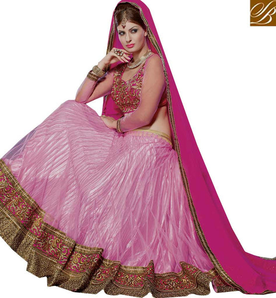 STYLISH BAZAAR PRESENTS ALLURING DESIGNER GHAGHRA CHOLI DESIGN FOR SPECIAL OCASSIONS RTJS1135